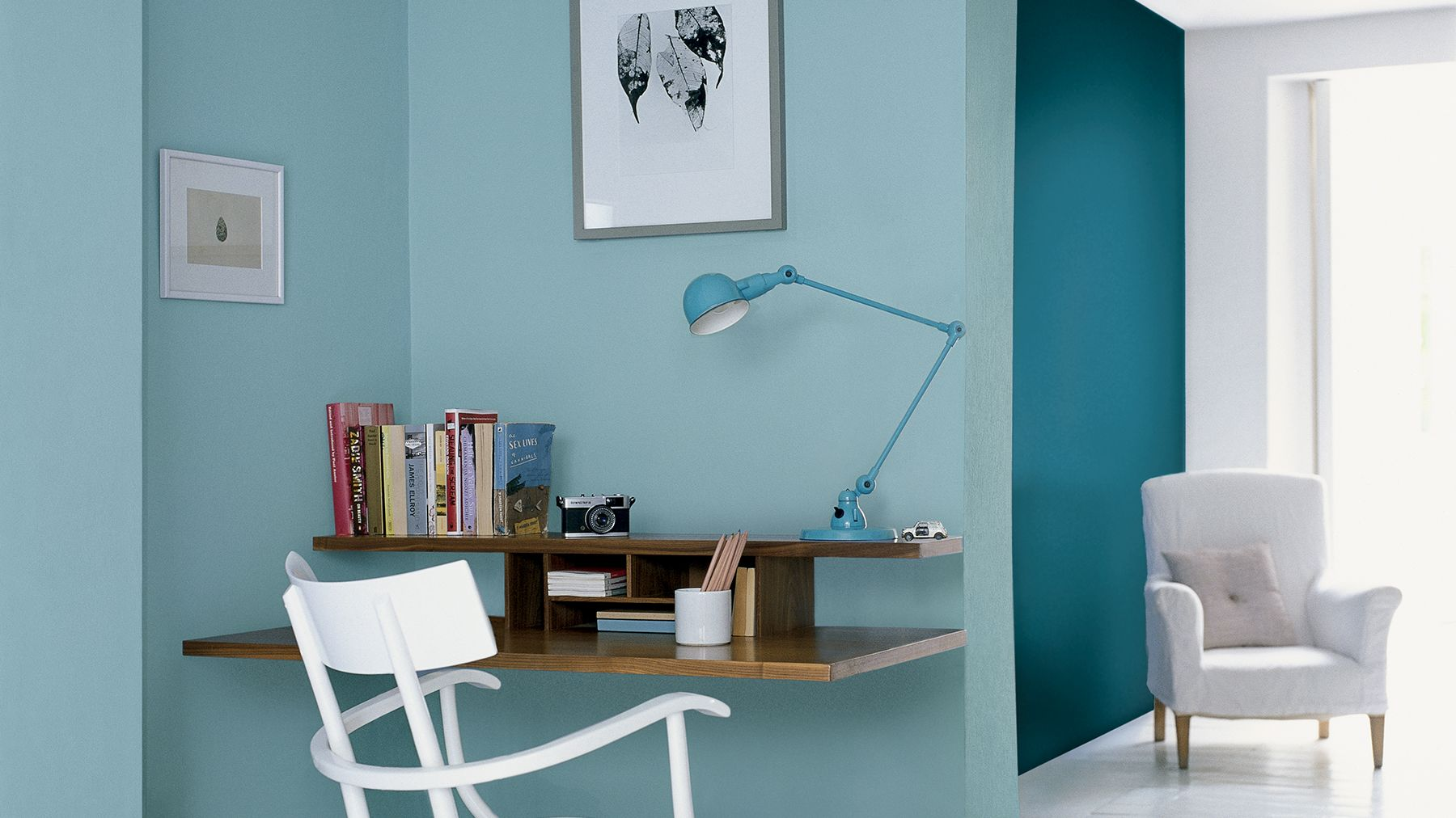 Image of: 5 Ideas For Cool Study Spaces Dulux