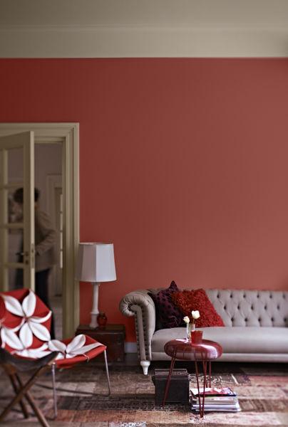 Create A Burnt Orange Living Room Ideas Dulux