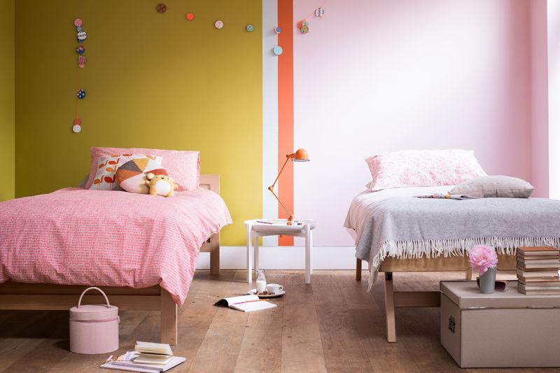 4 Girls Bedroom Ideas Colours Dulux