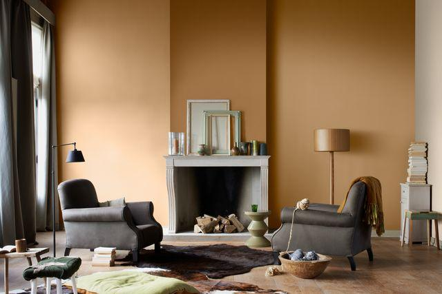 Creating A Gold Living Room Ideas Dulux