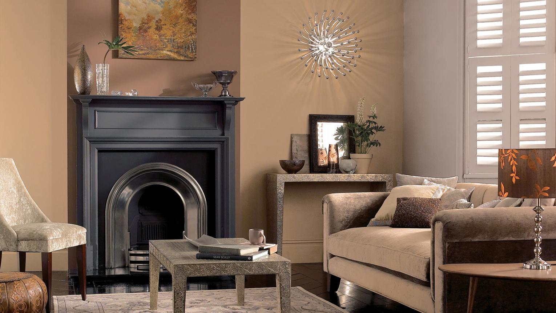 Gold Colour Living Rooms Ideas Dulux