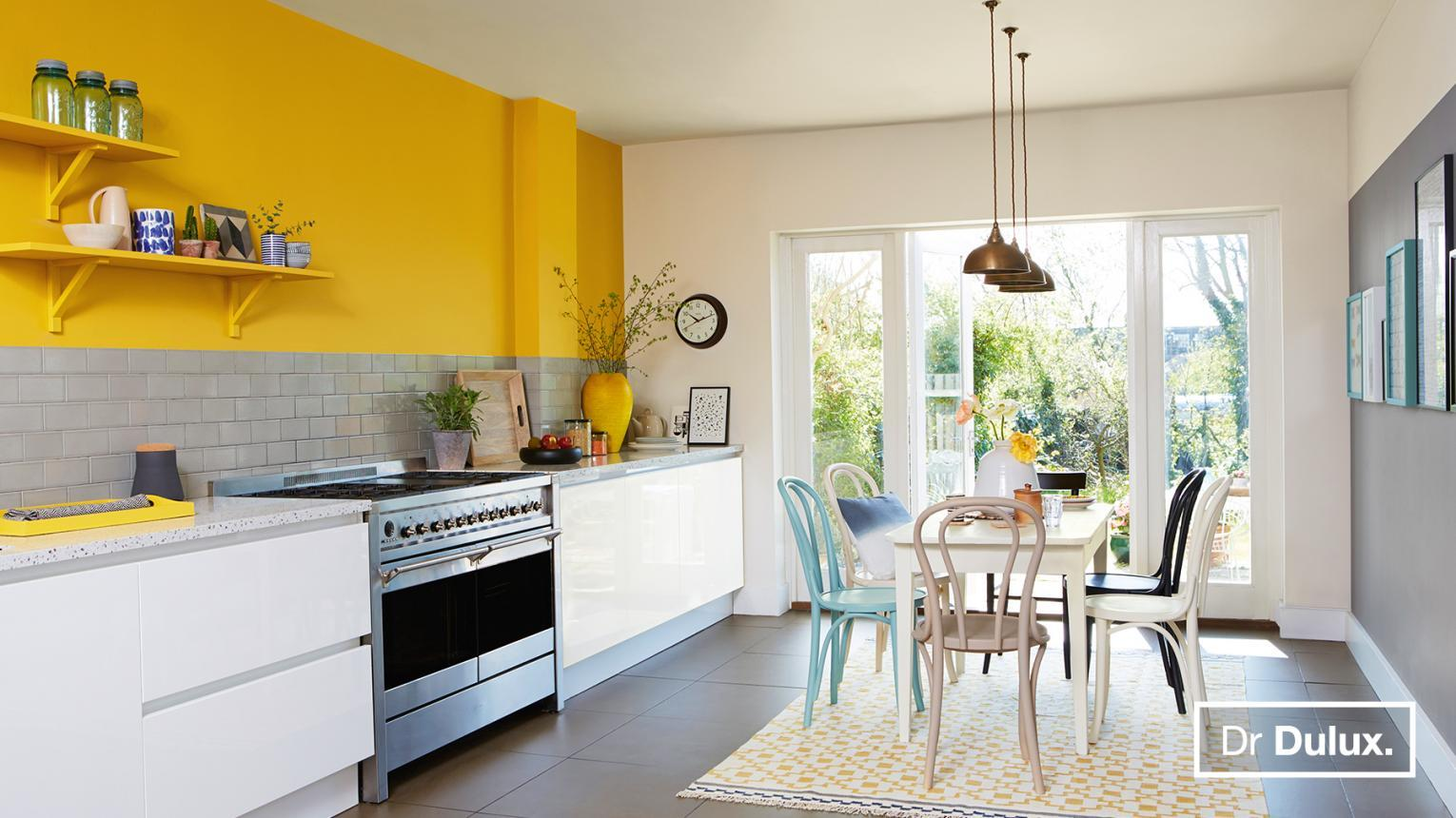 Long Lasting Kitchen Colour Ideas Dulux