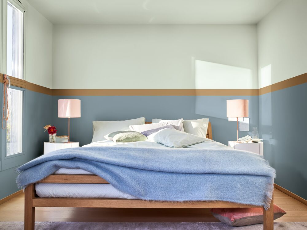 How To Paint Stripes On A Wall Ceiling Dulux