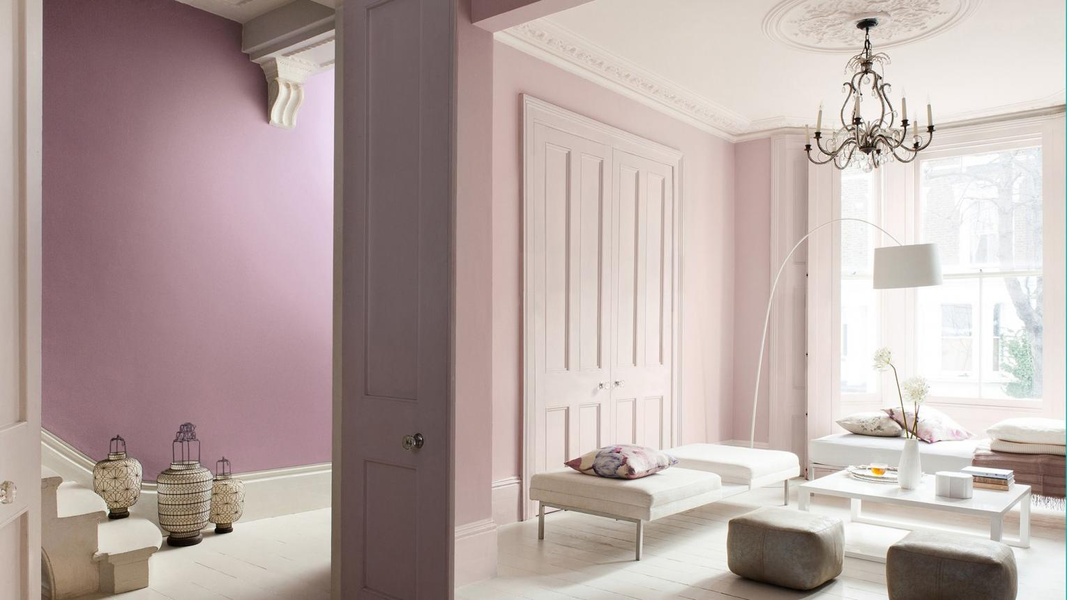 Using Dusty Purple And Pink In Your Home Ideas Dulux