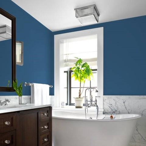 Colour Combination Tips For Your Blue Bathroom Dulux