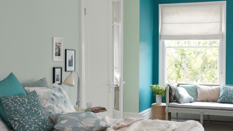 Restful Teal Bedrooms Ideas Dulux