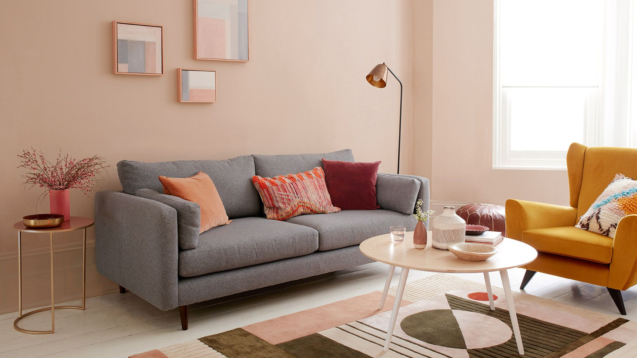 Two Colourful Busy Family Living Room Ideas Dulux