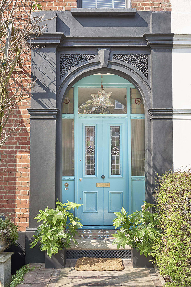 Wow With Teal As Your Front Door Paint Ideas Dulux