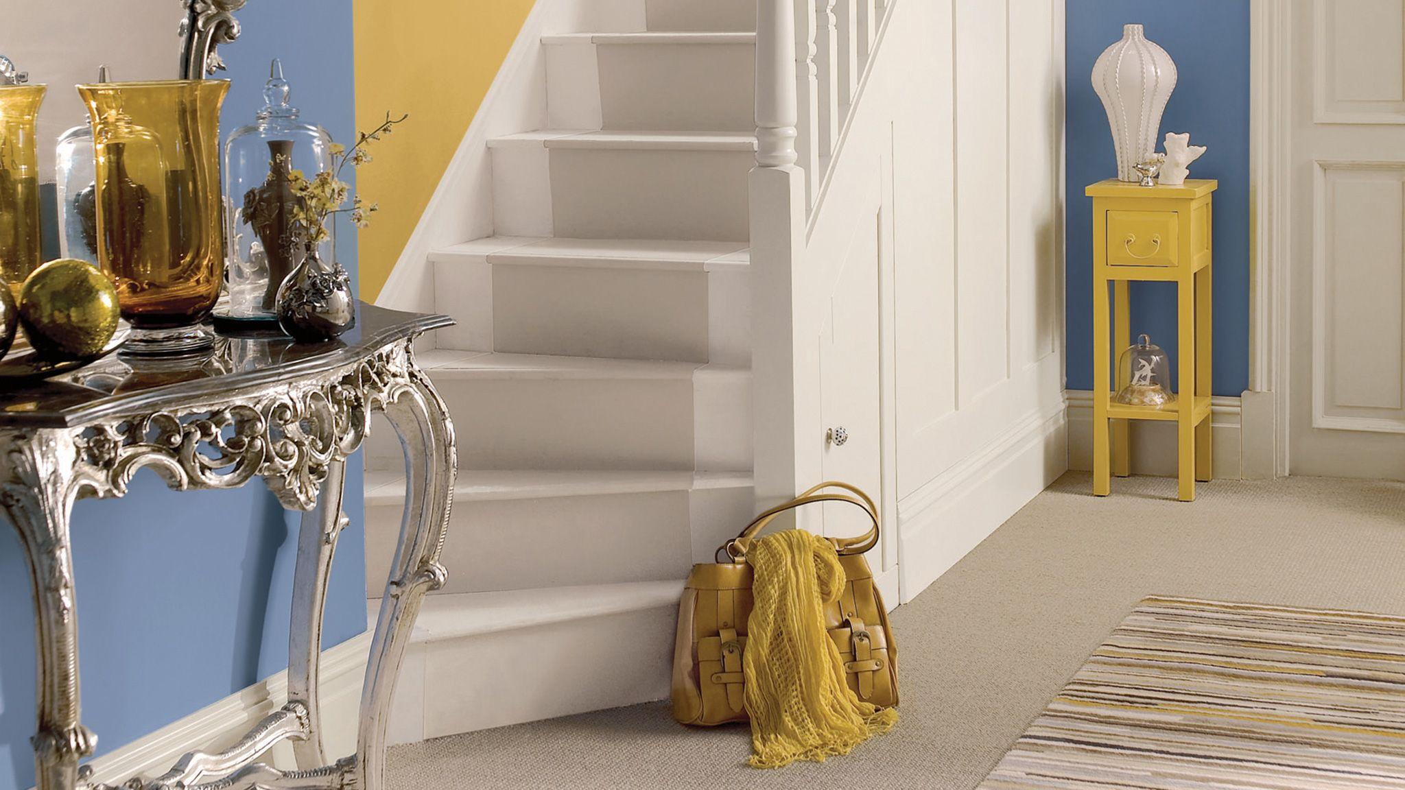 Blue Hallways Blue Decorating Paint Ideas Dulux