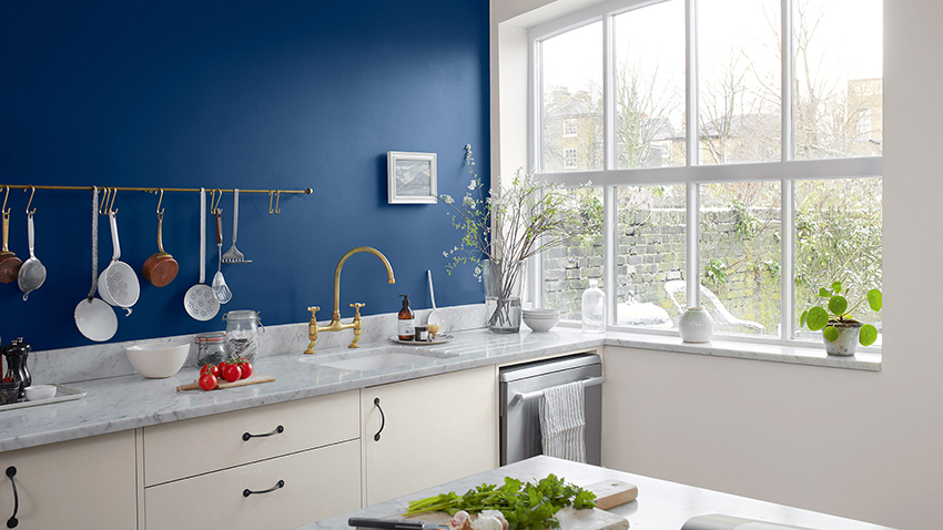 Blue Kitchens Blue Decorating Paint Ideas Dulux