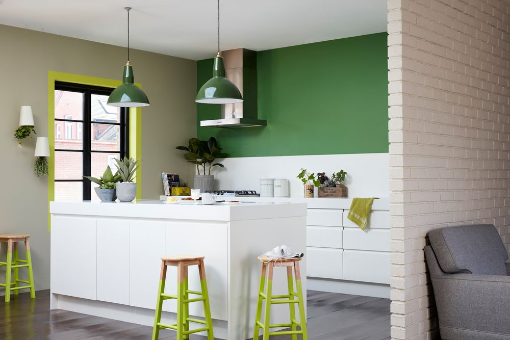 Green Kitchens Green Decorating Paint Ideas Dulux