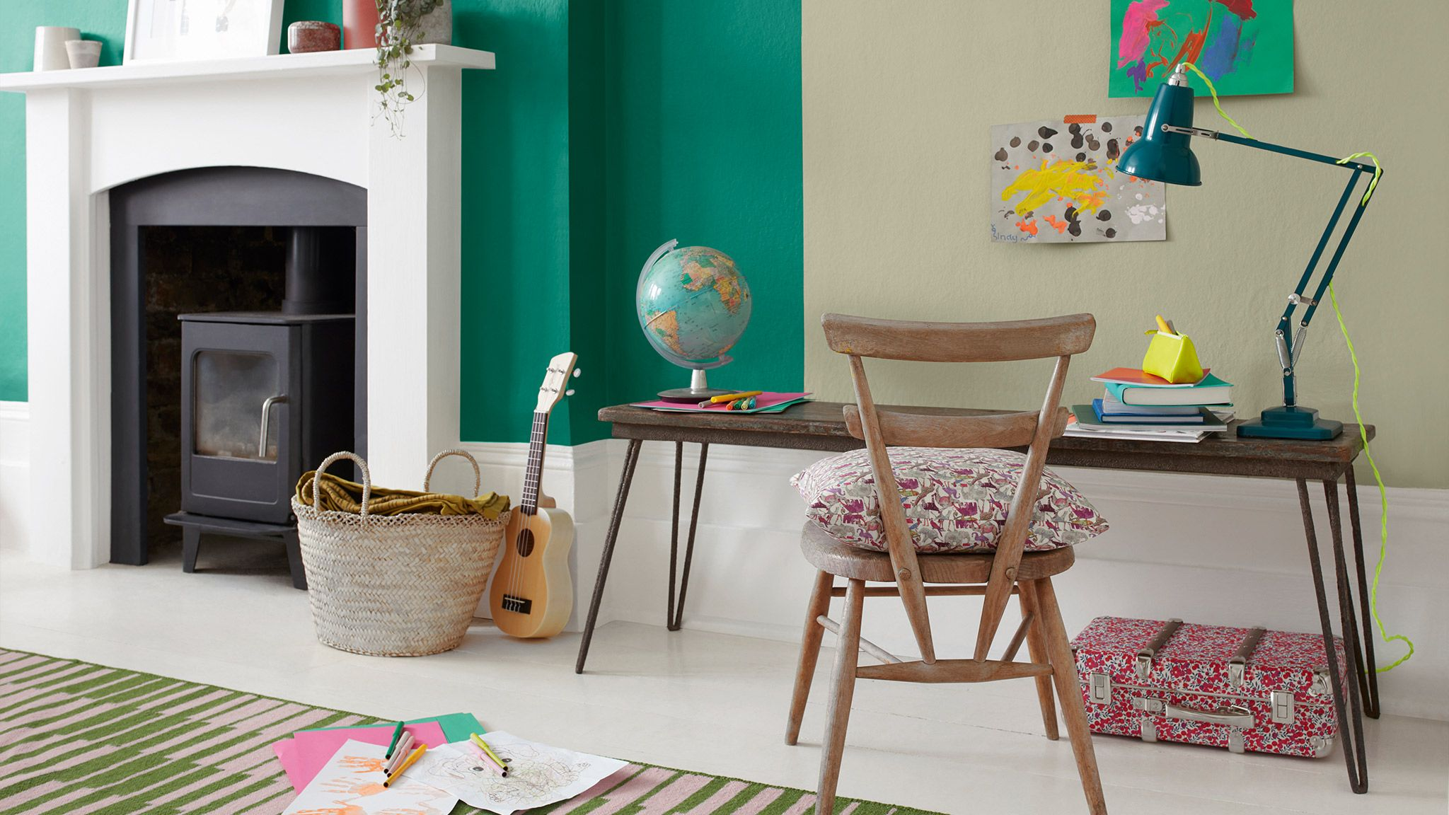 Green Living Rooms Green Decorating Paint Ideas Dulux