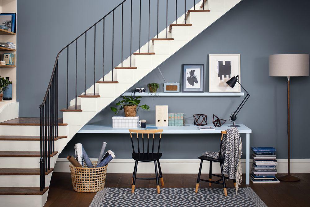 How To Brighten Up Dark Hallways Stairs Dulux
