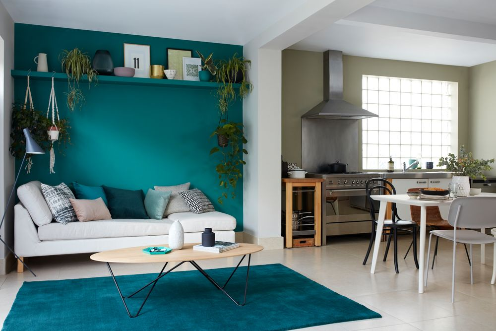 How To Decorate Open Plan Kitchen Living Room Dulux