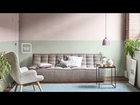 How To Create A Stylish Two Tone Wall Dulux