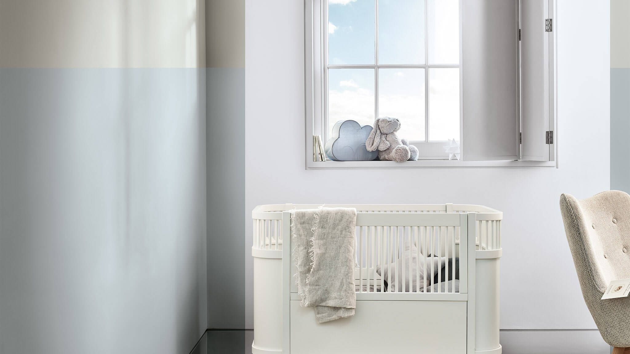 Image of: Transform Your Kid S Bedroom With Tranquil Dawn Dulux
