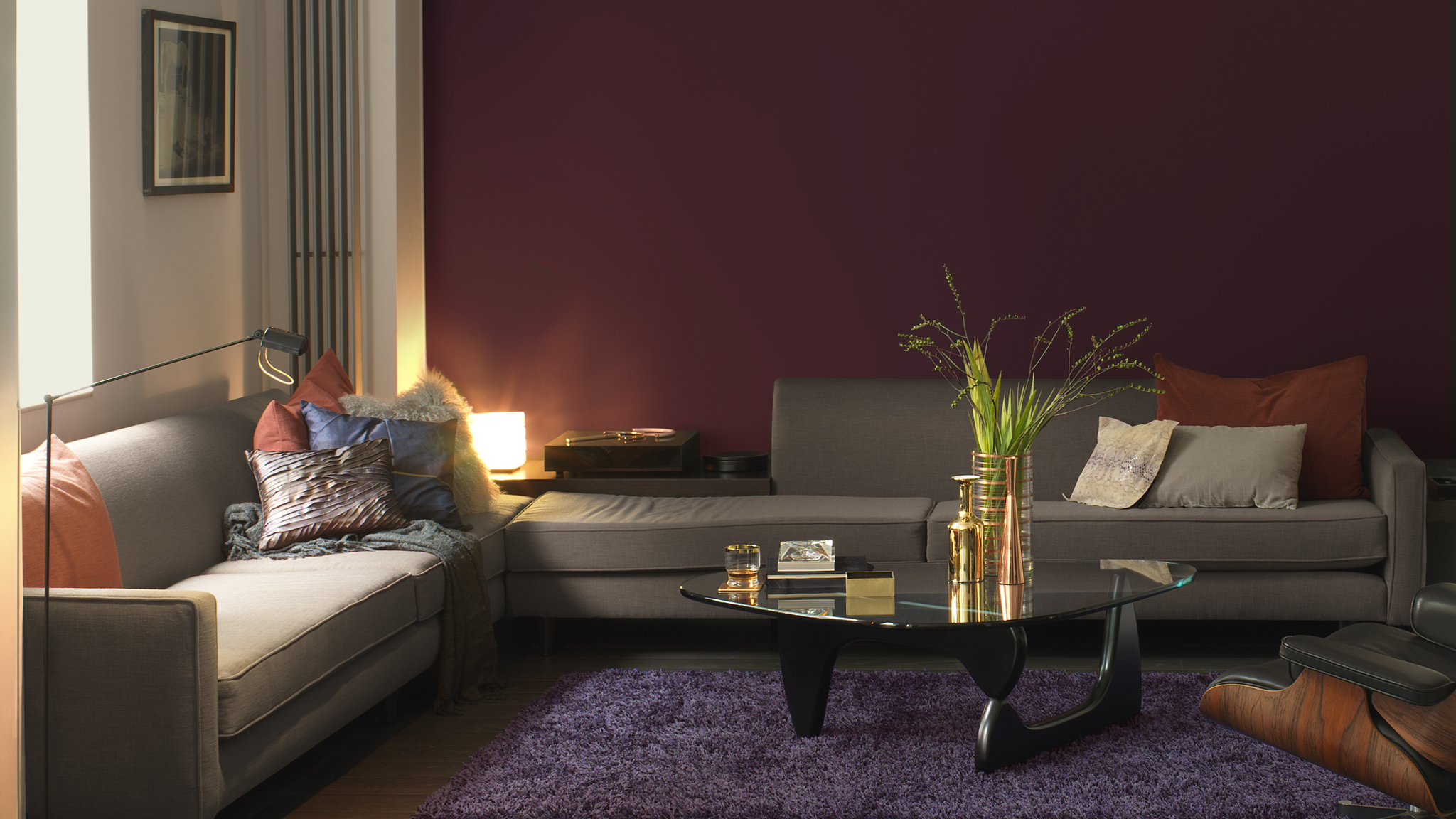 Choose Warm Hues For A Cosy Living Space Dulux